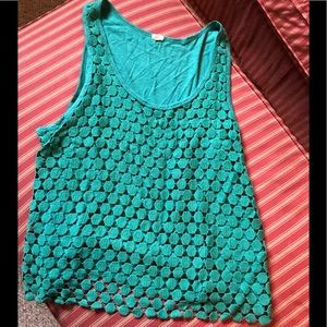 J. Crew sleeveless top. XL